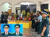 Lễ viếng, truy điệu 2 phi công Su-22 hy sinh ở Nghệ An