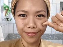 """Phương pháp massage """"6 bước, 3 động tác"""" có gì đặc biệt mà khiến gương mặt cô nàng này thon gọn chỉ sau 1 phút"""