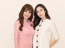 Hoa hậu Phương Lê đeo nhẫn kim cương 20 tỷ đọ sắc Nong Poy