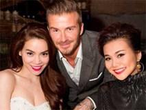 Những nghệ sĩ Việt có duyên gặp gỡ các cầu thủ nổi tiếng thế giới