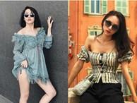 Kiểu đồ mặc vào là ngực 'bốc hơi' nhưng sao Việt vẫn mê tít suốt mùa hè