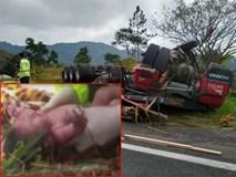 Tai nạn thảm khốc giết chết thai phụ nhưng điều kỳ diệu đã xảy đến chỉ cách đó vài mét