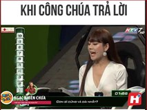 Chết cười với Lâm Khánh Chi thi