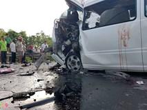 Tài xế xe đầu kéo phát hiện ôtô rước dâu loạng choạng trước tai nạn