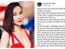 Dương Yến Ngọc cảnh cáo người yêu cũ: 'Đụng tới tôi dưới bất kì hình thức nào, tôi sẽ xử đẹp, không tha'