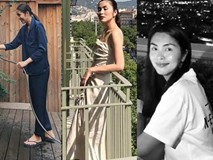 Chỉ với thân hình nay gầy mai béo chẳng biết đâu mà lần, Tăng Thanh Hà khiến showbiz Việt phải nháo nhào