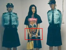 Phạm Băng Băng bị photoshop bức ảnh còng tay và tung lên mạng xã hội?