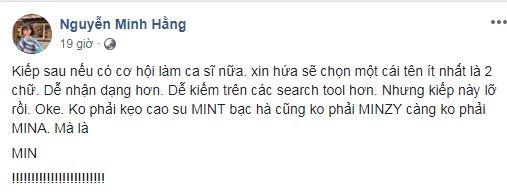 Phản ứng của sao Việt khi bị đụng hàng về nghệ danh: Người muốn đổi tên, kẻ tức giận lên tiếng-2