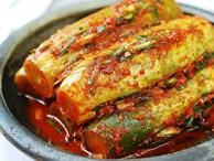 Công thức làm kim chi dưa chuột muối chuẩn vị Hàn