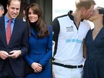 Lý do thực sự đằng sau việc vợ chồng William - Kate hiếm khi thể hiện tình cảm nồng nhiệt nơi đông người so với cặp đôi Harry - Meghan