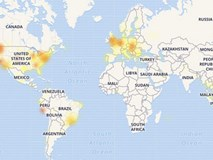 Facebook vừa sập tại nhiều quốc gia