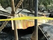Chồng chém vợ, phóng hỏa đốt nhà khiến 2 người chết cháy