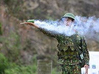 Sao Nhập Ngũ: 'Mr Cần-Trô' Xuân Nghị và các tân binh 'hoảng hồn' ném lựu đạn, dập lửa