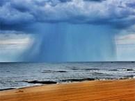 'Điềm báo' nguy hiểm từ đám mây nhìn hung dữ như vòi rồng ở Bà Rịa-Vũng Tàu