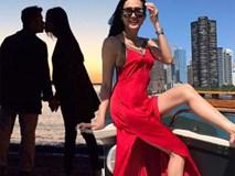 Nàng hoa hậu theo Bằng Kiều sang Mỹ sau 2 năm chia tay hiện ra sao?