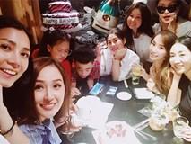 Mai Phương Thuý đón sinh nhật tuổi 30 bên hội bạn thân toàn các cô gái xinh đẹp