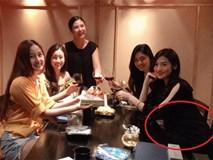 Hoa hậu Ngọc Hân khoe ảnh sinh nhật Mai Phương Thúy nhưng bụng Tú Anh mới là tâm điểm của bức hình