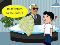 Câu đố 1 USD chênh lệch lúc thuê khách sạn đi đâu