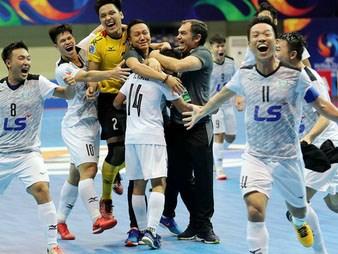 Thái Sơn Nam lội ngược dòng khó tin để vào chung kết futsal châu Á