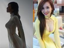 Những lần mặc áo dài gây tranh cãi của Mai Phương Thúy và sao Việt