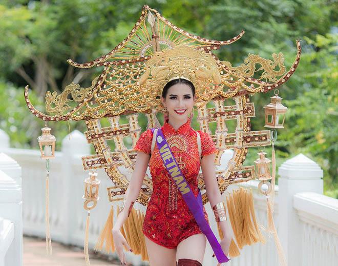 Những lần mặc áo dài gây tranh cãi của Mai Phương Thúy và sao Việt-1