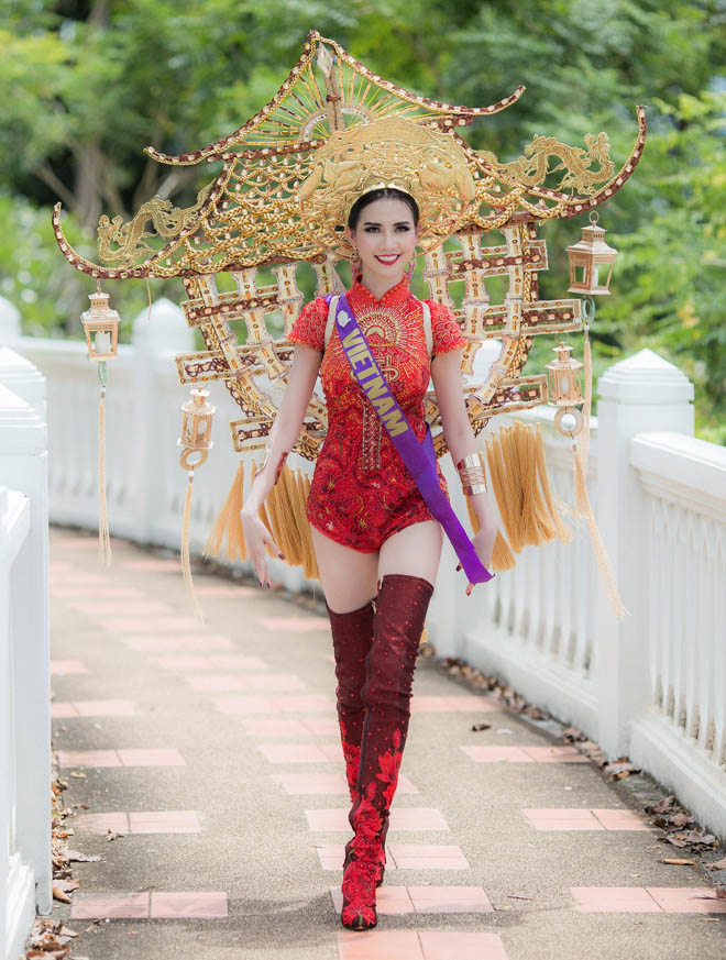 Những lần mặc áo dài gây tranh cãi của Mai Phương Thúy và sao Việt-2