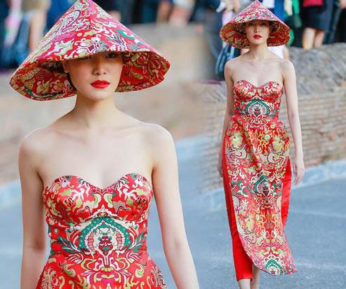 Những lần mặc áo dài gây tranh cãi của Mai Phương Thúy và sao Việt-8