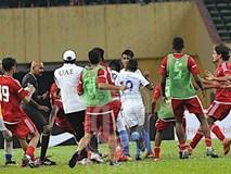Chấn động trước thềm ASIAD: Olympic Malaysia hỗn chiến với Olympic UAE trong trận cầu xấu xí