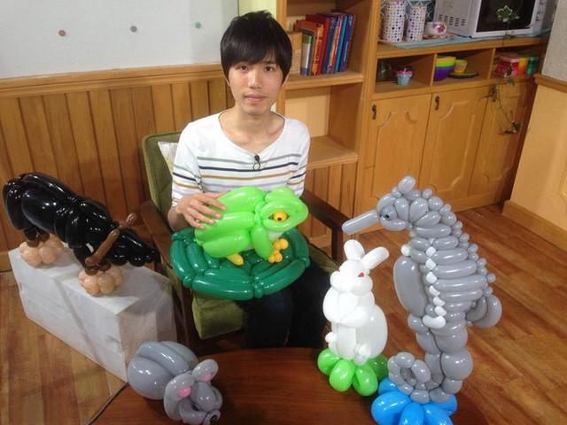 9X Nhật Bản tạo hình động vật từ bóng bay giống y như thật-1