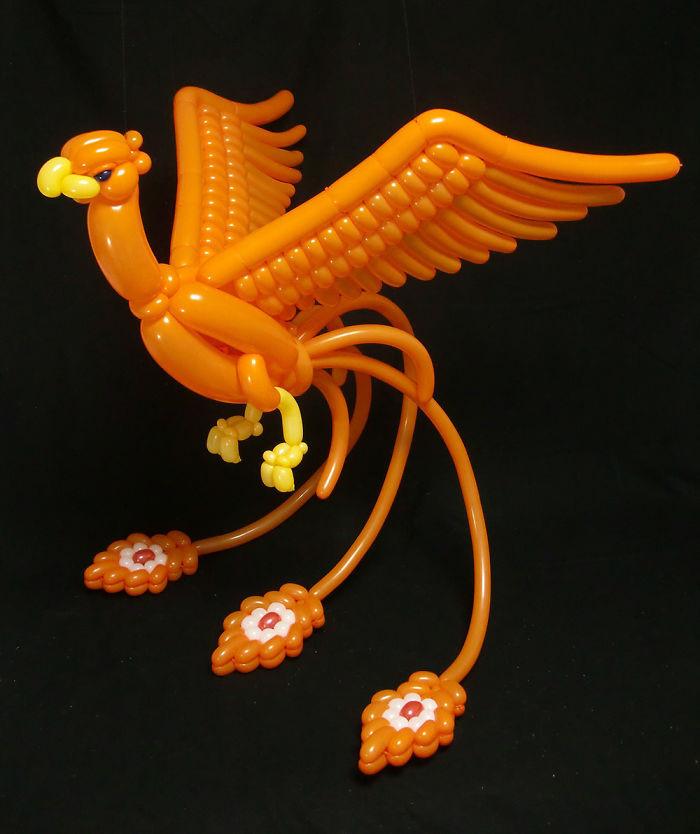 9X Nhật Bản tạo hình động vật từ bóng bay giống y như thật-4