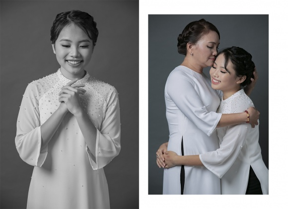 Phương Mỹ Chi hạnh phúc khoe mẹ trong bộ ảnh mừng mùa Vu Lan-6