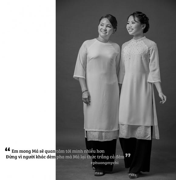 Phương Mỹ Chi hạnh phúc khoe mẹ trong bộ ảnh mừng mùa Vu Lan-2