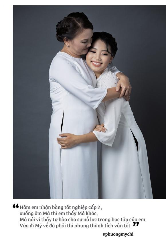 Phương Mỹ Chi hạnh phúc khoe mẹ trong bộ ảnh mừng mùa Vu Lan-1