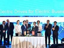 VinFast cùng Siemens sản xuất xe buýt điện