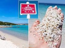 Nhúm cát có giá chục triệu, du khách đua nhau trộm mang về