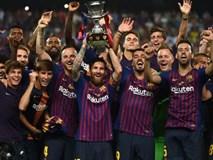 Barca giành Siêu Cúp Tây Ban Nha trong ngày Messi chính thức đeo băng đội trưởng