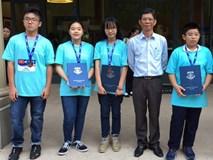 5 học sinh Việt Nam đoạt huy chương Olympiad Toán học