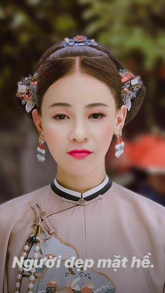 Hoà cùng sức hút của Diên Hi Công Lược, loạt sao Việt đua nhau hoá phi tần khiến fan thích thú-5