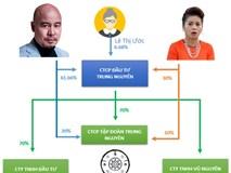 Hé lộ tỷ lệ sở hữu thực sự của ông Đặng Lê Nguyên Vũ và bà Diệp Thảo tại Trung Nguyên
