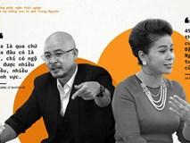 Những phát ngôn trái ngược của vợ chồng 'vua' cà phê Trung Nguyên