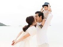 Ngọc Lan - Thanh Bình kỉ niệm 2 năm về chung một nhà bằng bộ ảnh cực đẹp ở biển