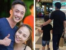 Yên ắng một thời gian, Đàm Thu Trang lại chia sẻ khoảnh khắc bình yên cùng Cường Đô La và Subeo