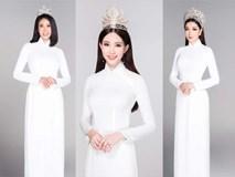 12 Hoa hậu Việt Nam đẹp tinh khôi với áo dài trắng nữ sinh