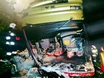 Lật xe buýt tại Ba Lan, hơn 50 người thương vong