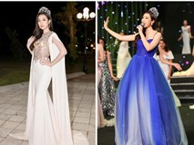 """Hoa hậu Đỗ Mỹ Linh """"biến hình"""" với 2 chiếc váy trong Gala kỷ niệm 30 năm HHVN"""