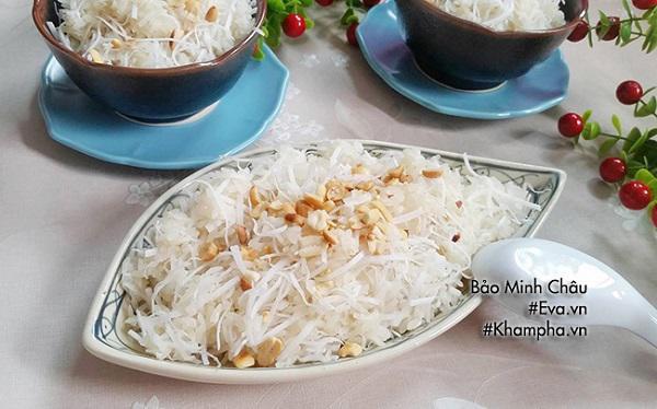 1. Nguyên liệu để nấu xôi bằng nồi cơm điện