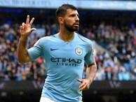 Man City trở lại ngôi đầu sau chiến thắng hủy diệt trước Huddersfield