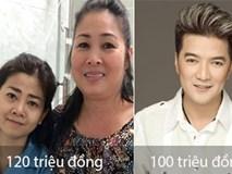 Sao Việt ủng hộ những khoản tiền 'khủng' đầu tiên giúp diễn viên Mai Phương chiến đấu với bệnh ung thư