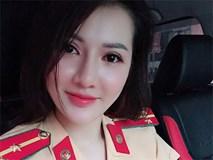Nữ cảnh sát giao thông gây sốt MXH vì xinh đẹp, trẻ trung như người mẫu, hóa ra đã 2 con, lại được chồng yêu chiều hết mực