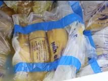 Cận cảnh 5 tấn nấm nhập lậu bốc mùi hôi thối bị tiêu hủy trong một tích tắc